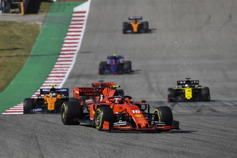 F1 | ルクレール、52秒遅れの4位「序盤にあれほど遅かった理由が分からない」とフェラーリ代表:F1アメリカGP