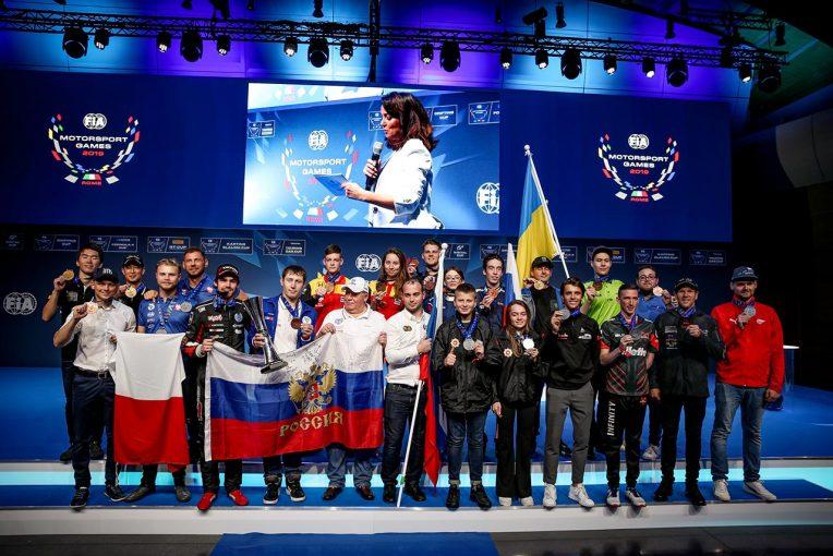 海外レース他 | モータースポーツ・ゲームスで日本は3位タイ。濱口/笹原組がGTカップの金メダル獲得