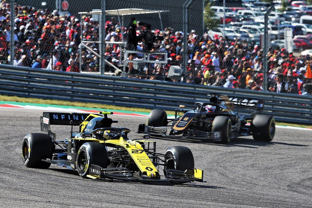 2019年F1第19戦アメリカGP ニコ・ヒュルケンベルグ(ルノー)