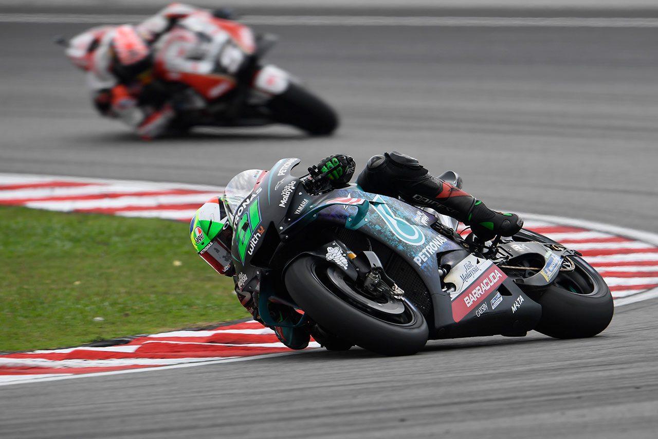 MotoGPマレーシアGP:ポールポジションスタートのクアルタラロ「バイクを止められず」大きく後退