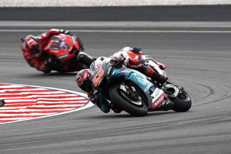 MotoGP   MotoGPマレーシアGP:ポールスタートのクアルタラロ「バイクを止められず」1周目で大きく後退