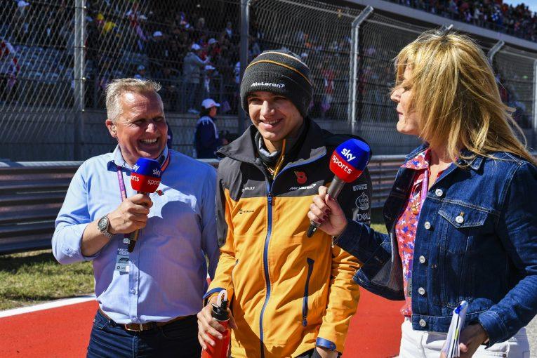 F1 | ノリス7位「リカルドには勝てなかったが、いいレースができた」:マクラーレン F1アメリカGP