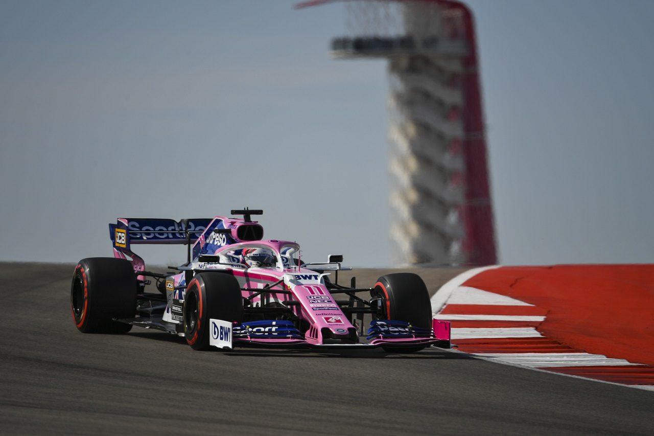 2019年F1第19戦アメリカGP セルジオ・ペレス(レーシングポイント)