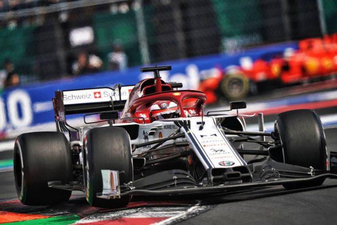 2019年F1第19戦アメリカGP キミ・ライコネン(アルファロメオ)