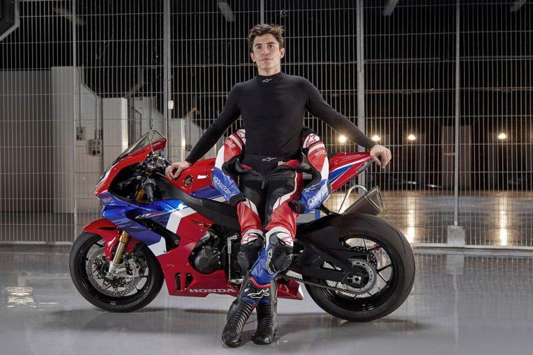 MotoGP   MotoGP王者マルケスが、ホンダの新型スーパースポーツ『CBR1000RR-R Fireblade SP』をインプレッション