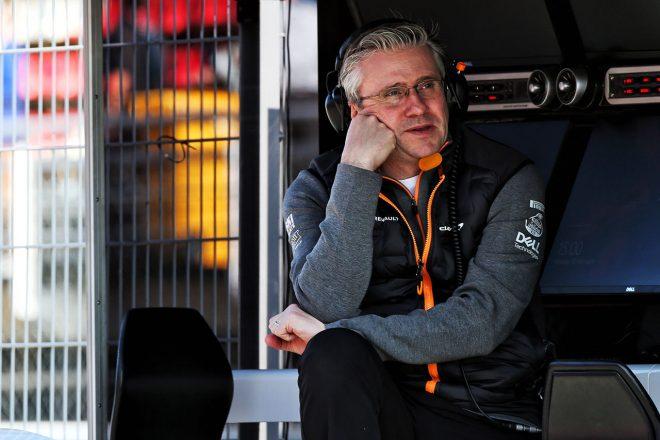 2019年F1バルセロナテスト パット・フライ(マクラーレンのエンジニアリングディレクター)