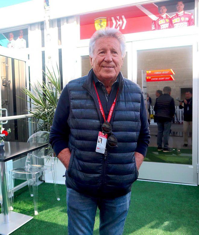 2019年F1第19戦アメリカGP マリオ・アンドレッティ