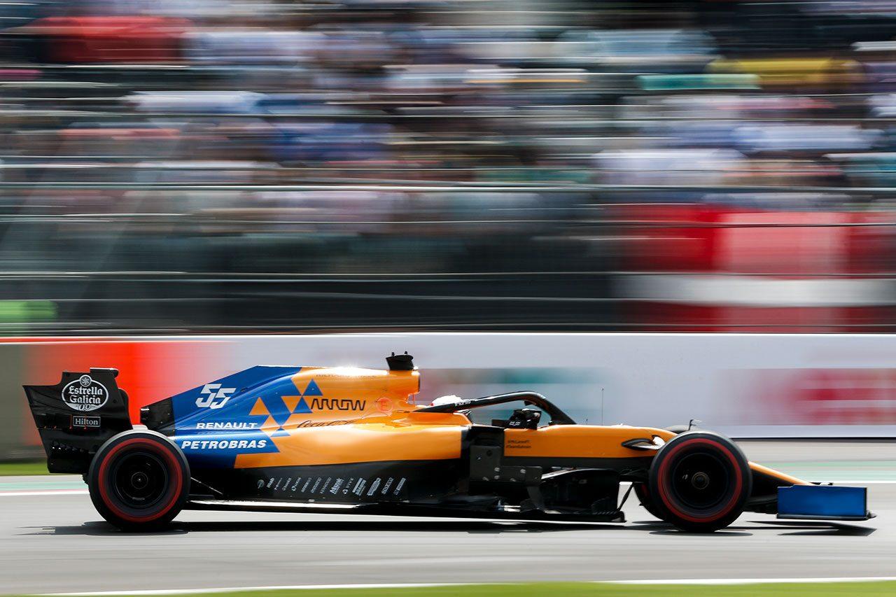 2019年F1第18戦メキシコGP カルロス・サインツJr.(マクラーレン)