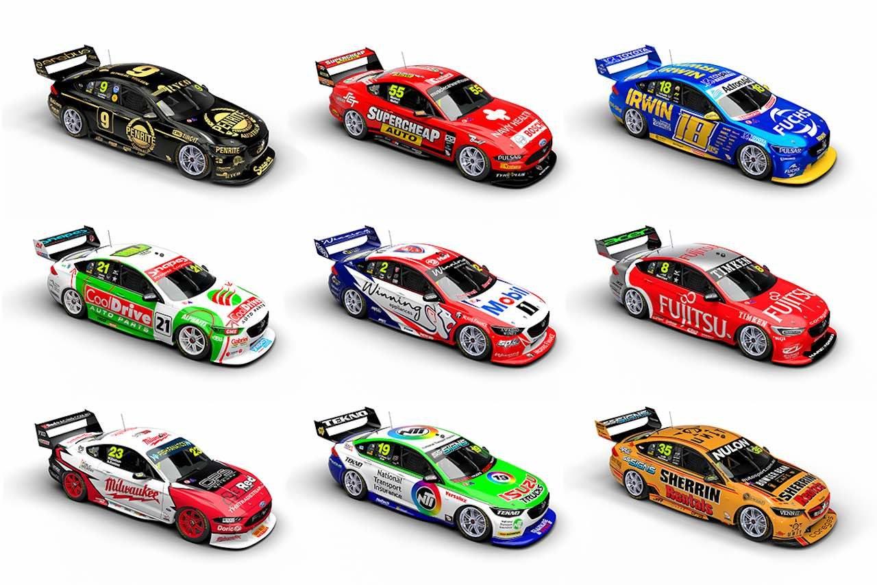 豪州SC:ケリー・レーシング、2020年仕様『フォード・マスタング』公開。ハイムガートナーも残留へ