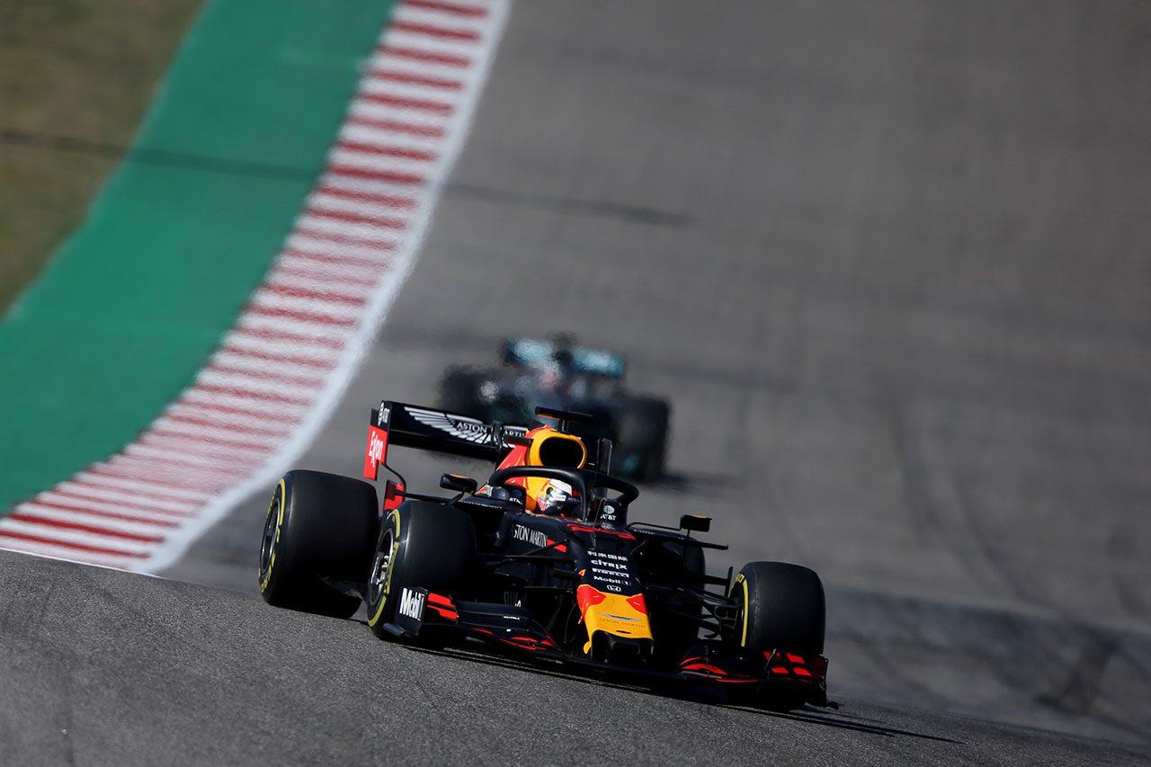 2019年F1第19戦アメリカGP マックス・フェルスタッペン(レッドブル・ホンダ)