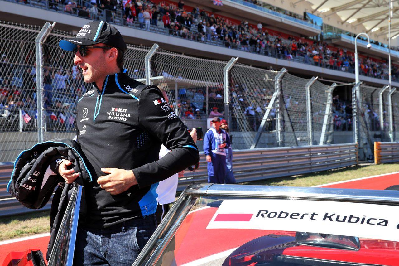 2019年F1アメリカGP ロバート・クビサ(ウイリアムズ)