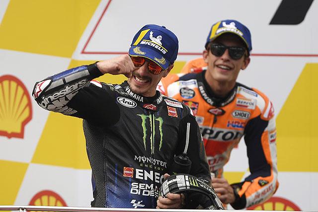 MotoGP | MotoGP:ウイーク前から自信を覗かせていたビニャーレス。13番手から2位を得たマルケスのタイヤ選択