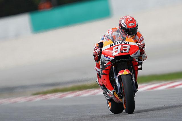 MotoGP:ウイーク前から自信を覗かせていたビニャーレス。13番手から2位を得たマルケスのタイヤ選択