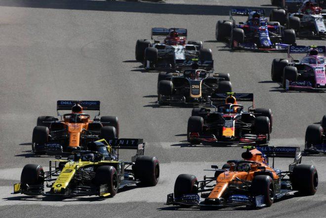 2019年F1第19戦アメリカGP ダニエル・リカルド(ルノー)