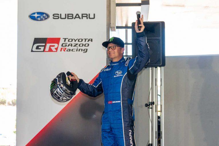 ラリー/WRC | ペター・ソルベルグがセントラル・ラリー登場。ラリー・ジャパンで「息子の走りを見られるはず」