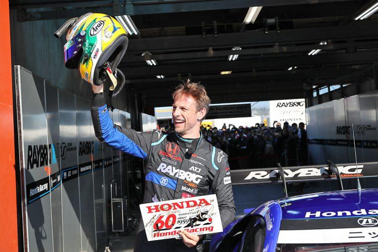 スーパーGT | ジェンソン・バトン、ホンダサンクスデーでRAYBRIG NSX-GTラストラン「みんなに感謝している。本当に楽しかったよ!」