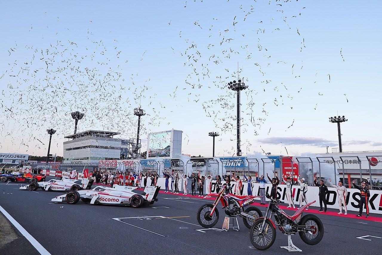 ホンダサンクスデーには17500名が来場。世界選手権への参戦60周年を記念した2019年を締めくくる