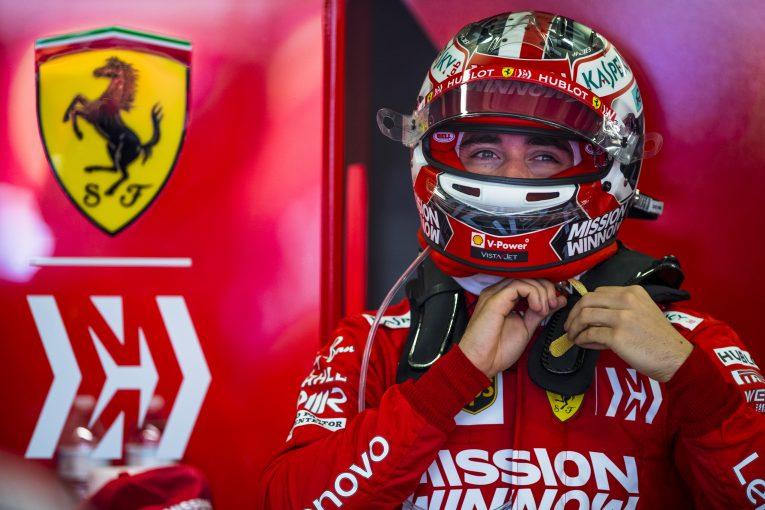 F1 | フェラーリのルクレール「F1昇格2年目でランキング3位争いをするとは予想していなかった」