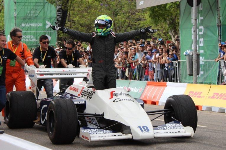 F1   【動画:アイルトン・セナ没後25年イベント】フィッティパルディやマッサがセナゆかりのマシンでデモ走行