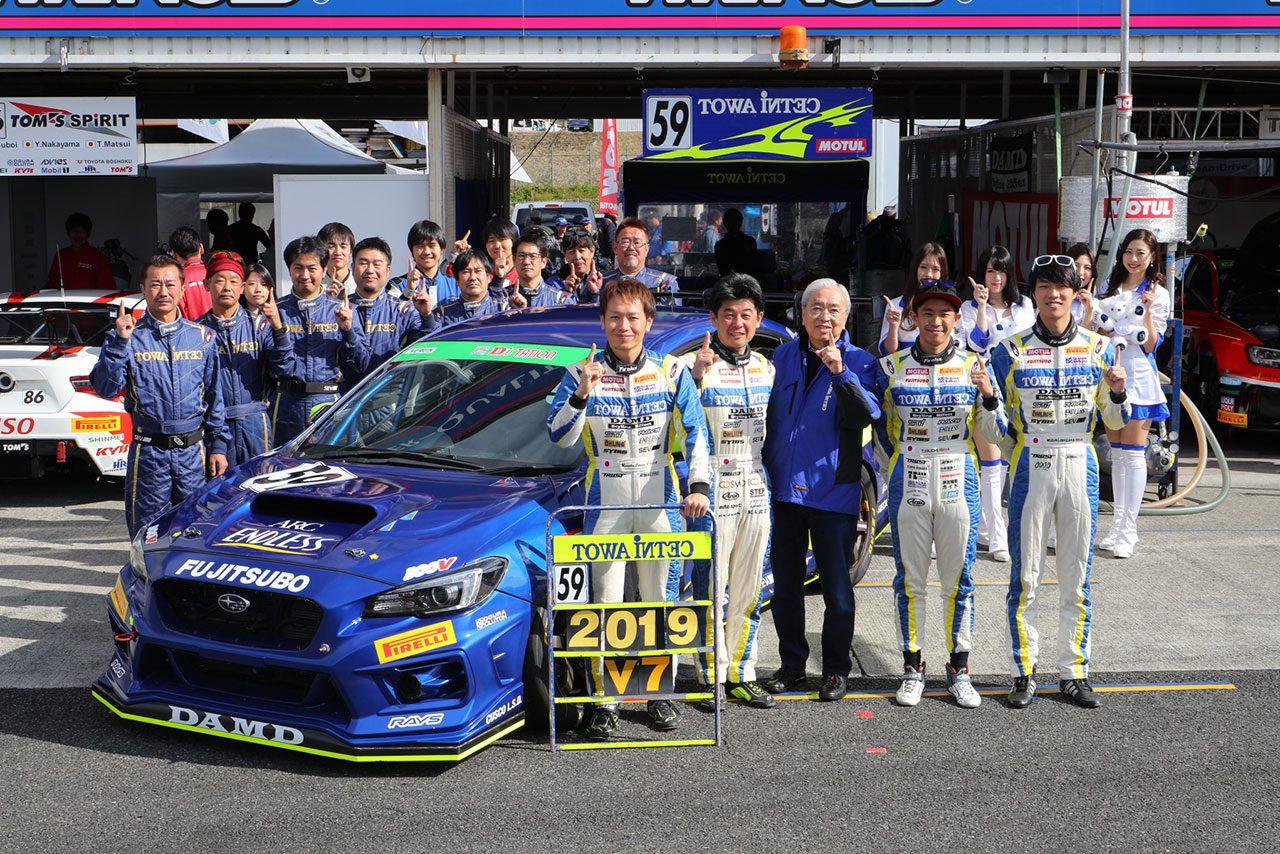 スーパー耐久最終戦岡山:グループ1は777号車D'stationが勝利。激戦のST-TCRはBRPアウディが戴冠