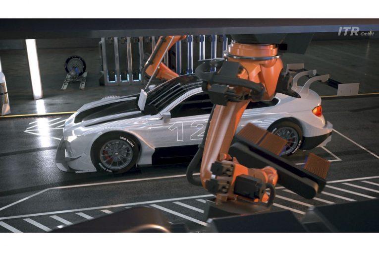 海外レース他 | DTM:1000馬力を超えるハイブリッド燃料電池コンセプトの近未来スタディを発表