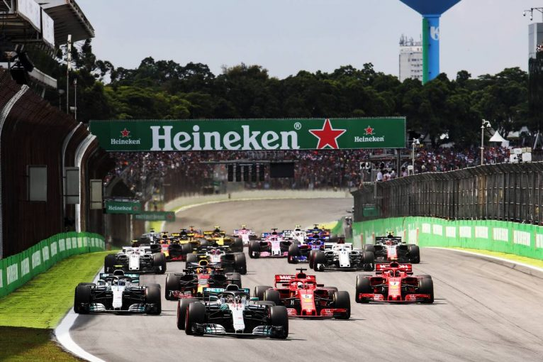 F1 | 2019年F1第20戦ブラジルGP、TV放送&タイムスケジュール