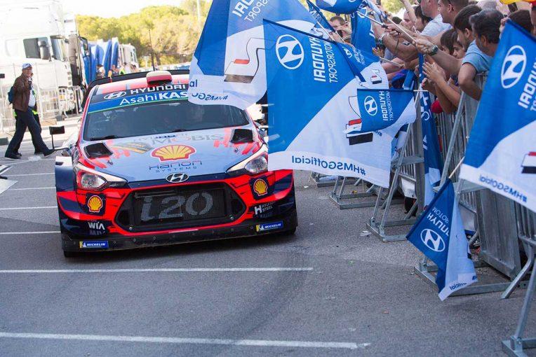 ラリー/WRC | WRC:ヒュンダイ、初のタイトル獲得も「喜びと森林火災被災者への思いが入り交じる複雑な心境」