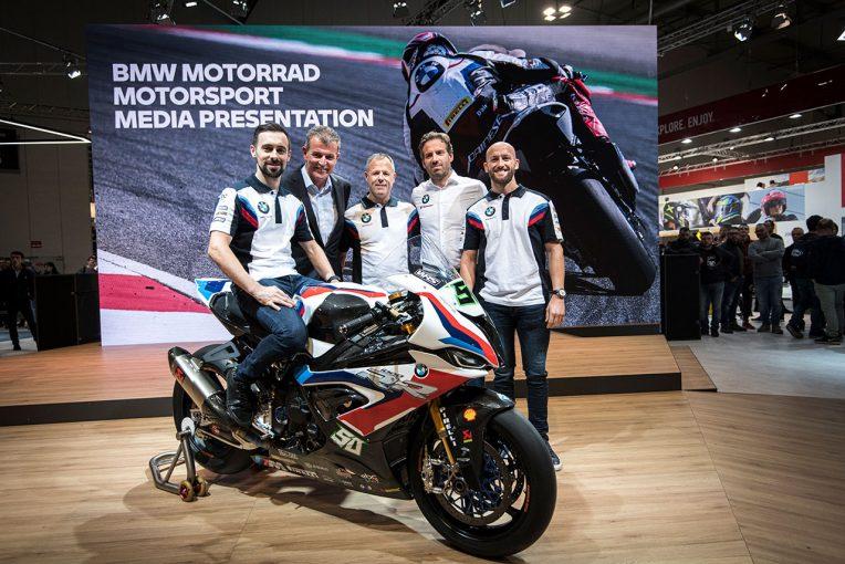 MotoGP | SBK:BMWが参戦マシンお披露目。サイクス「優勝は時間も開発も必要だが、達成できる」