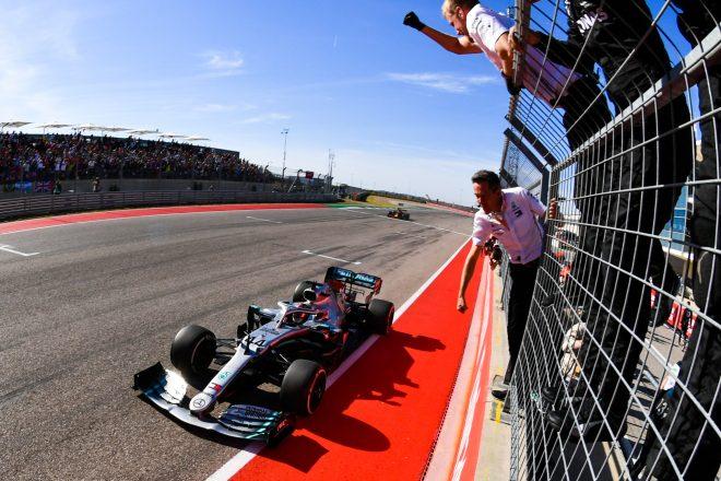 2019年F1アメリカGPでタイトルを獲得したルイス・ハミルトン
