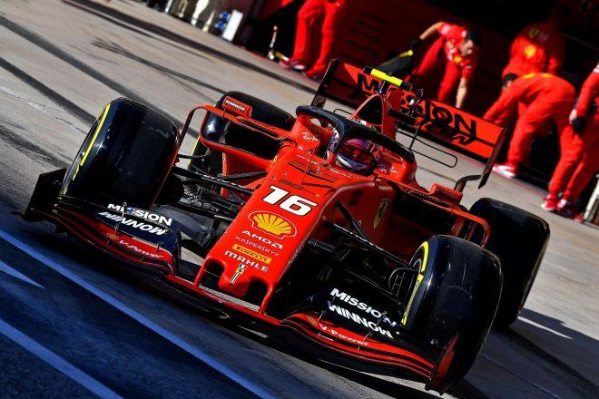 2019年F1第19戦アメリカGP シャルル・ルクレール(フェラーリ)