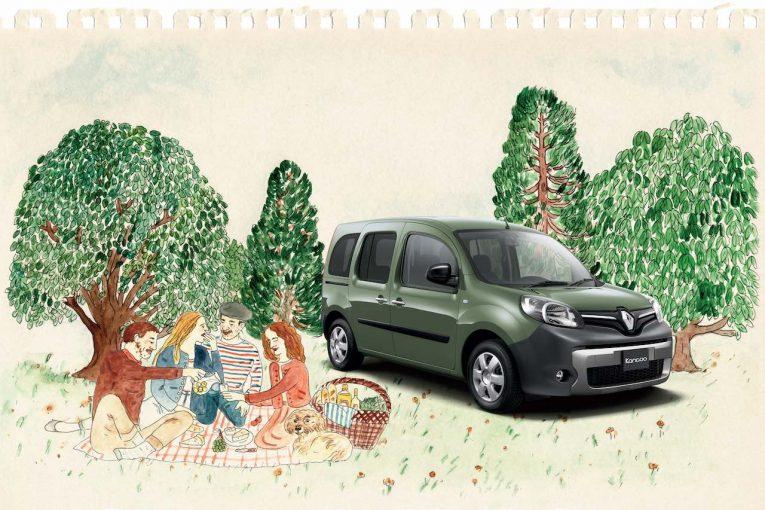 クルマ | 外遊びに出掛けたくなる、鮮やかなグリーンの『ルノー・カングー エヴァジヨン』登場
