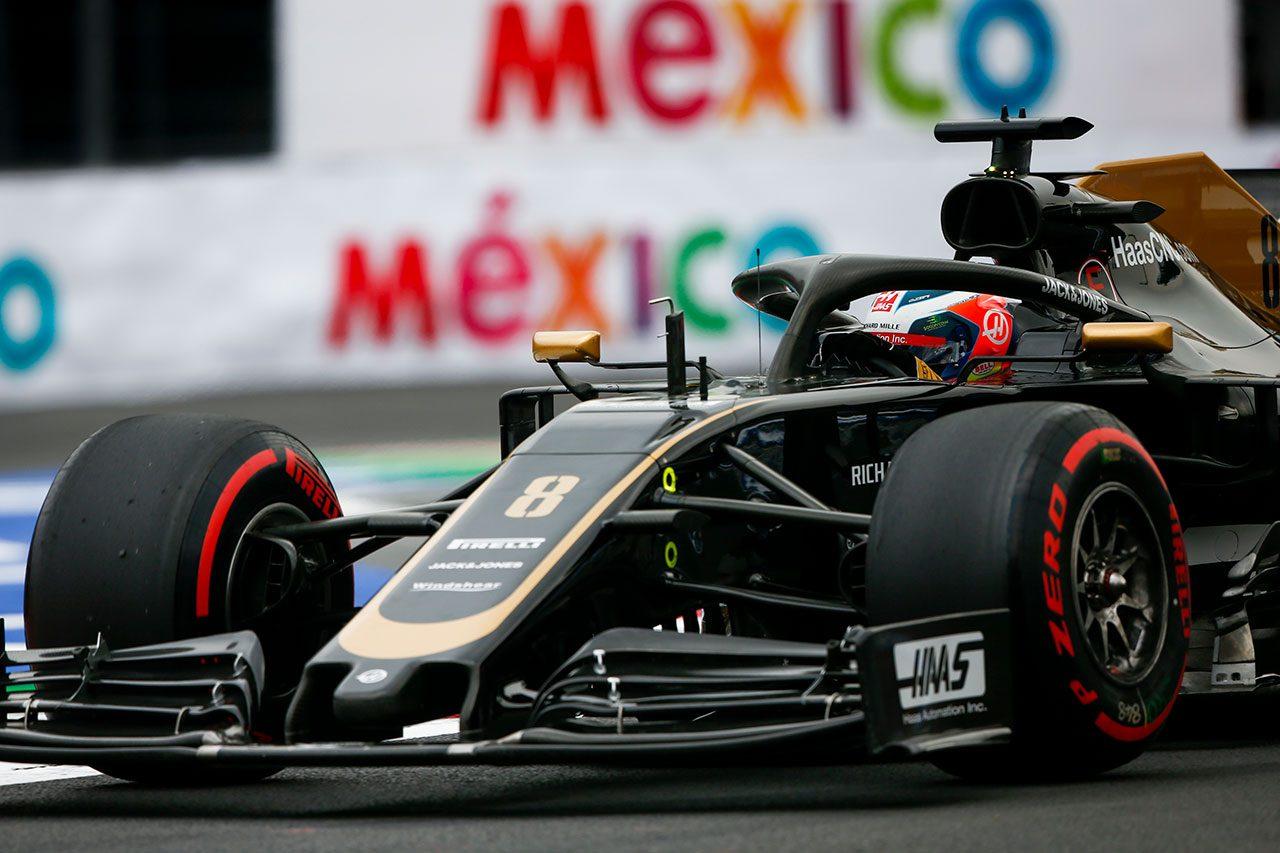 2019年F1第18戦メキシコGP ロマン・グロージャン(ハース)