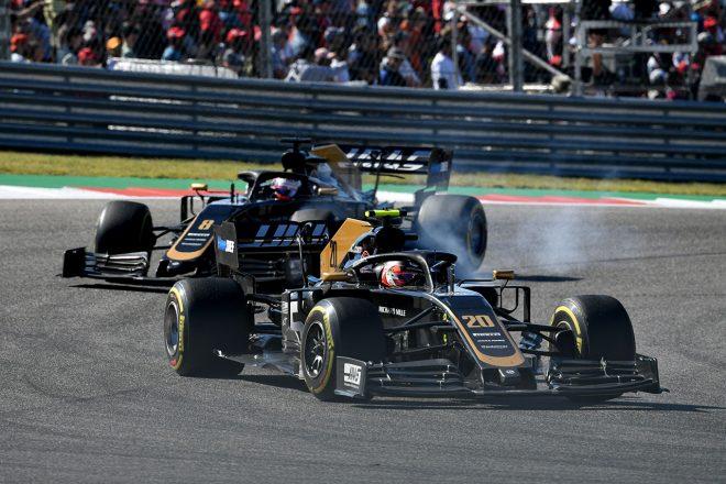 2019年F1第19戦アメリカGP ケビン・マグヌッセン&ロマン・グロージャン(ハース)