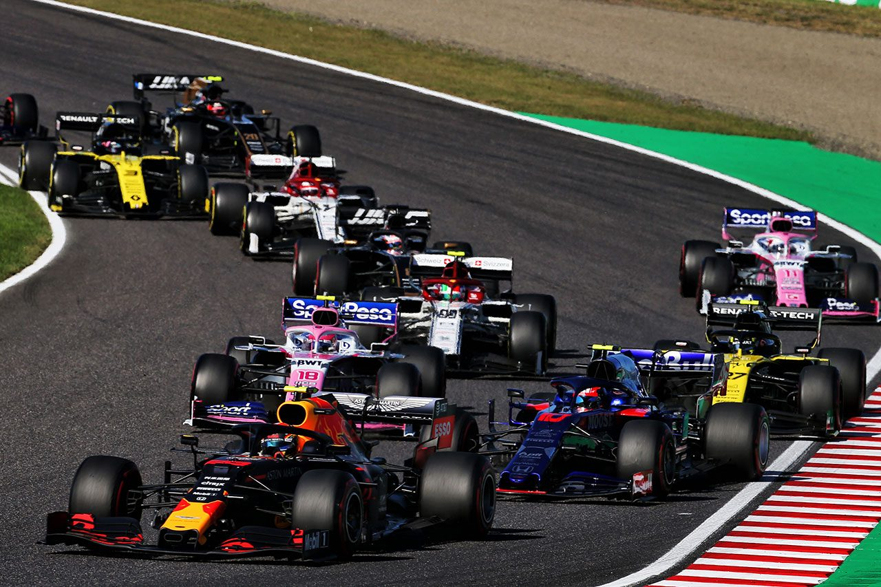2019年F1第17戦日本GP アレクサンダー・アルボン(レッドブル・ホンダ)