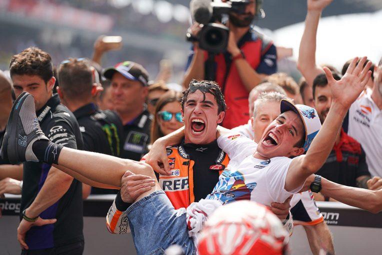 MotoGP | マルケス、最終戦の目標は「チームタイトルの獲得」/MotoGP第19戦バレンシアGP事前コメント