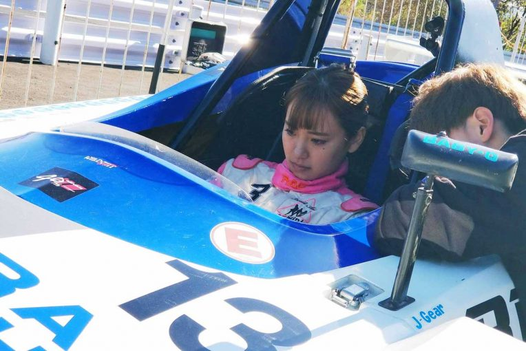 Blog | 【ブログ】ついにレーシングドライバーに!? 笠原美香がシングルシーターを初ドライブ/競争女子体験記