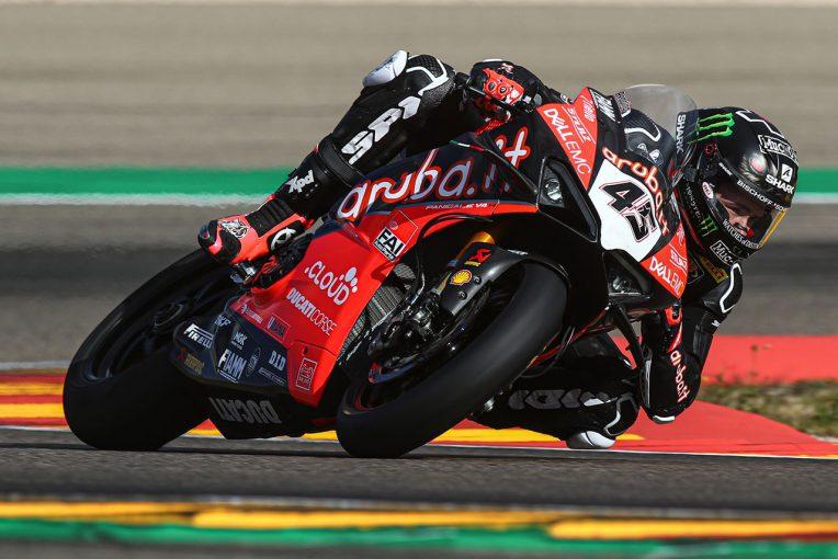 MotoGP | SBKウインターテストがスタート。元MotoGPライダーのレディングが2日間で最速、王者レイは3番手で終える