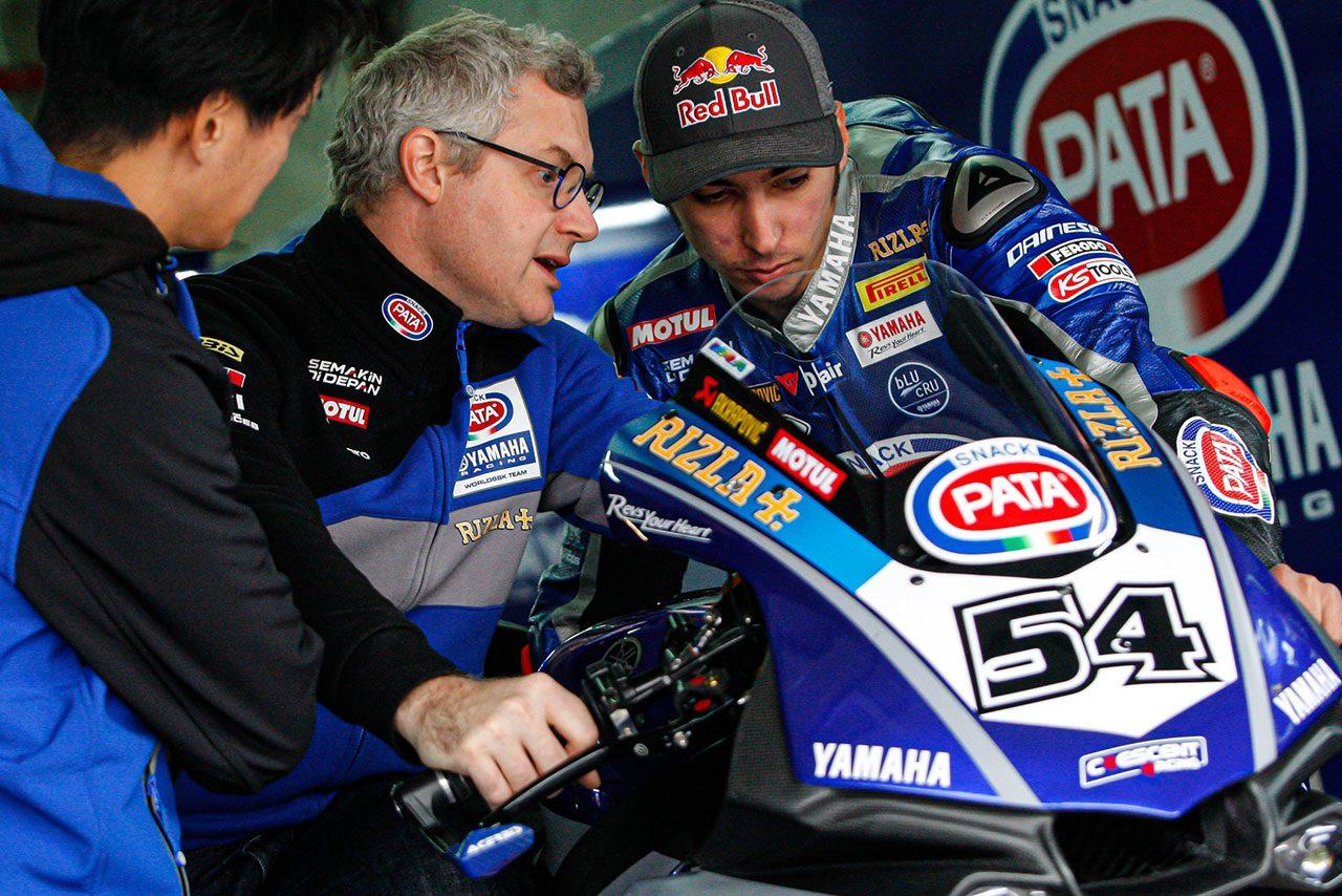 SBKウインターテストがスタート。元MotoGPライダーのレディングが2日間で最速、王者レイは2番手で終える