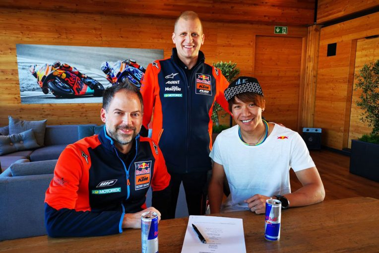 MotoGP | 長島哲太、継続参戦を発表していたSAGと契約解消。2020年はKTMアジョに電撃移籍しMoto2参戦
