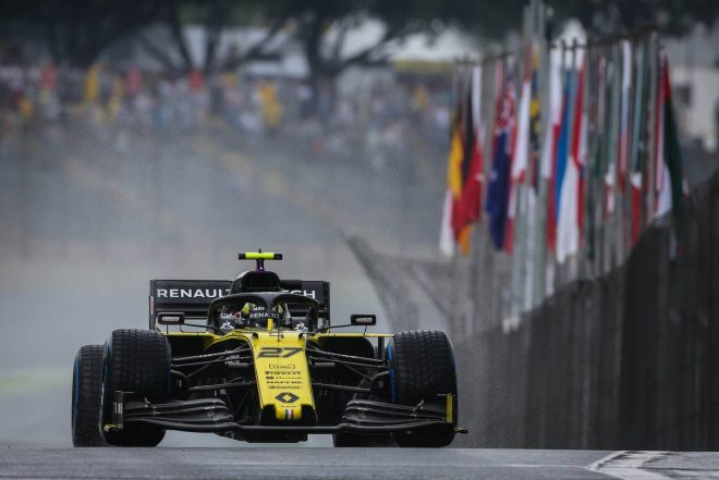2019年F1第20戦ブラジルGP決勝 ニコ・ヒュルケンベルグ(ルノー)