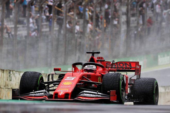 2019年F1第20戦ブラジルGP決勝 セバスチャン・ベッテル(フェラーリ)