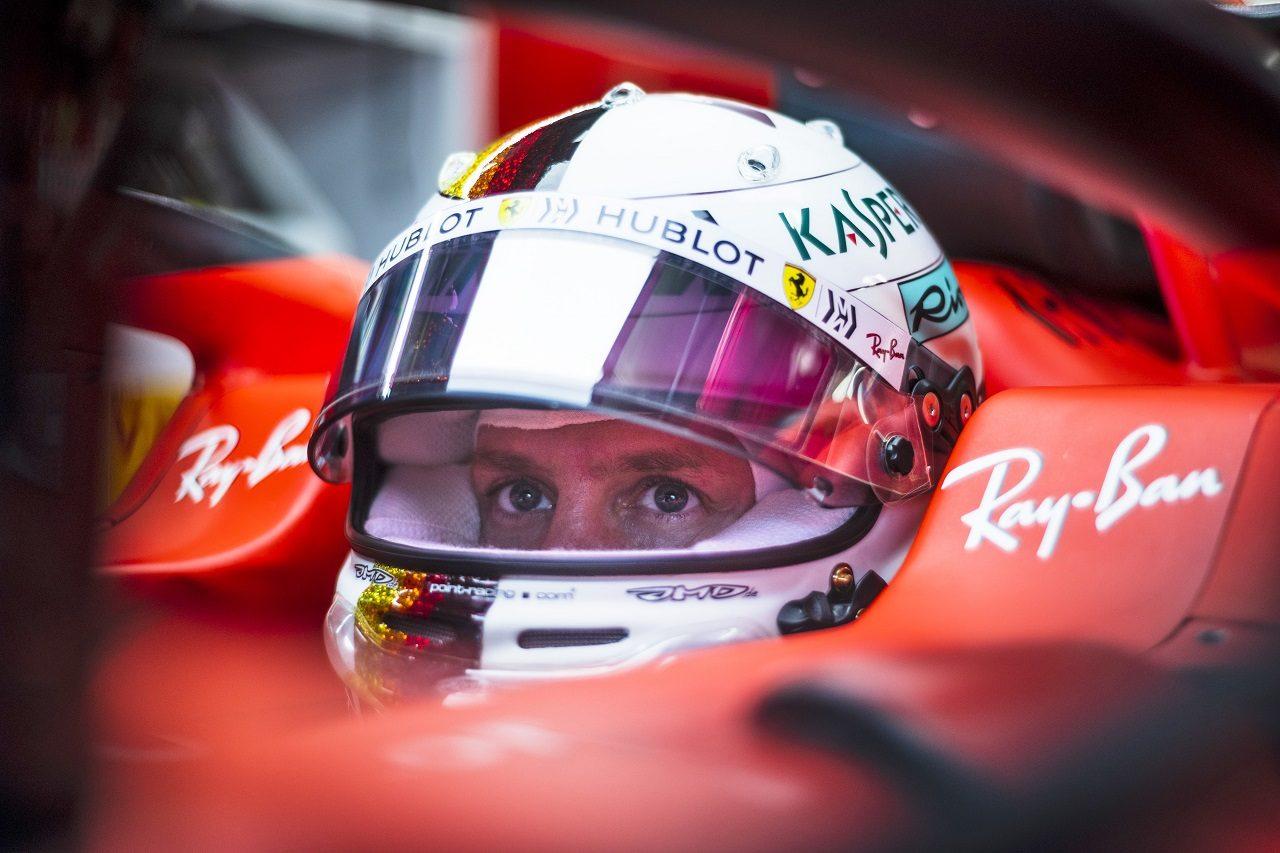 2019年F1第20戦ブラジルGP セバスチャン・ベッテル(フェラーリ)