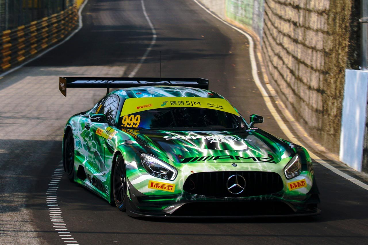 第66回マカオGP:FIA GTワールドカップはマルチェッロのメルセデスが予選レースを制す
