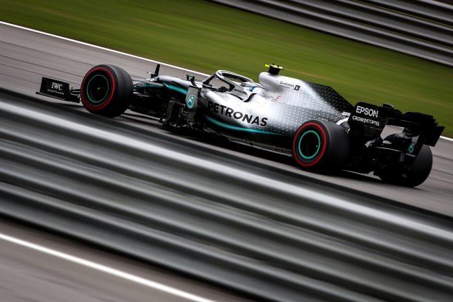 2019年F1第20戦ブラジルGP バルテリ・ボッタス(メルセデス)
