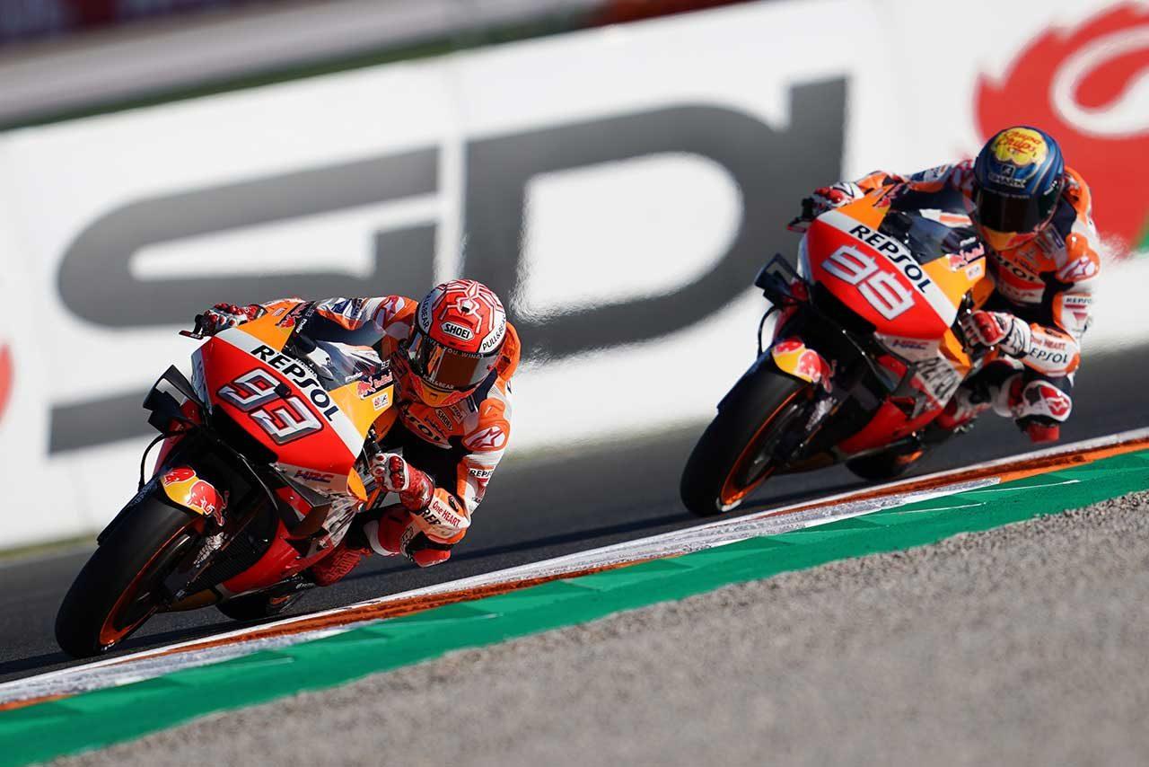 MotoGPバレンシアGP:クアルタラロが初日2回のフリー走行でトップタイム。前戦ウイナーのビニャーレスが2番手に続く