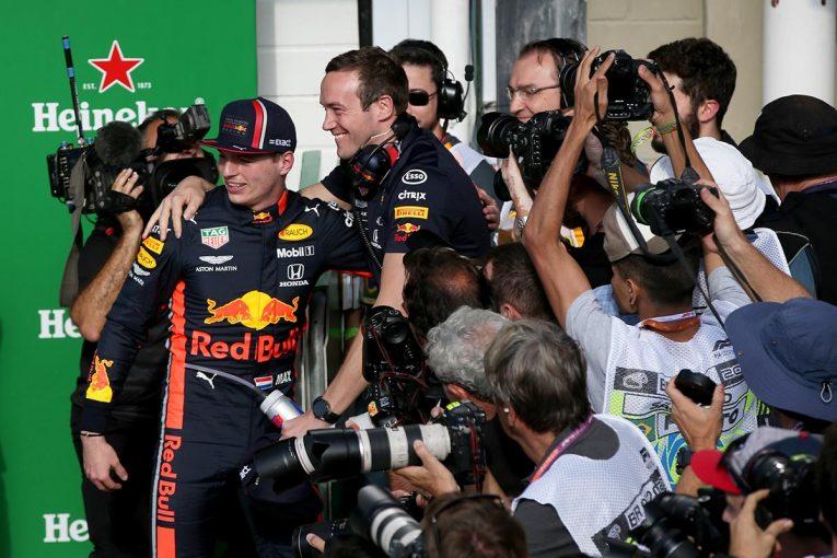 F1   レッドブルTD予選後インタビュー:ストレートでフェラーリに匹敵。「ホンダのパワーユニットがしっかりと仕事してくれた」