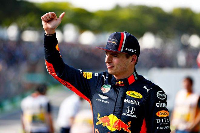 2019年F1第20戦ブラジルGP予選日 マックス・フェルスタッペン(レッドブル・ホンダ)