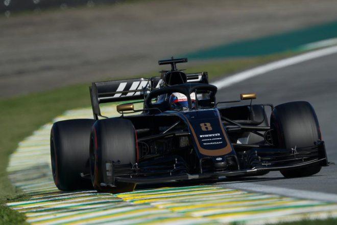 2019年F1第20戦ブラジルGP予選日 ロマン・グロージャン(ハース)