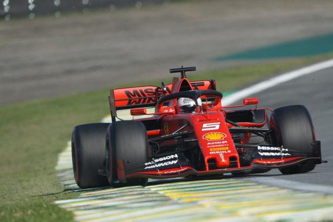 2019年F1第20戦ブラジルGP予選日 セバスチャン・ベッテル(フェラーリ)