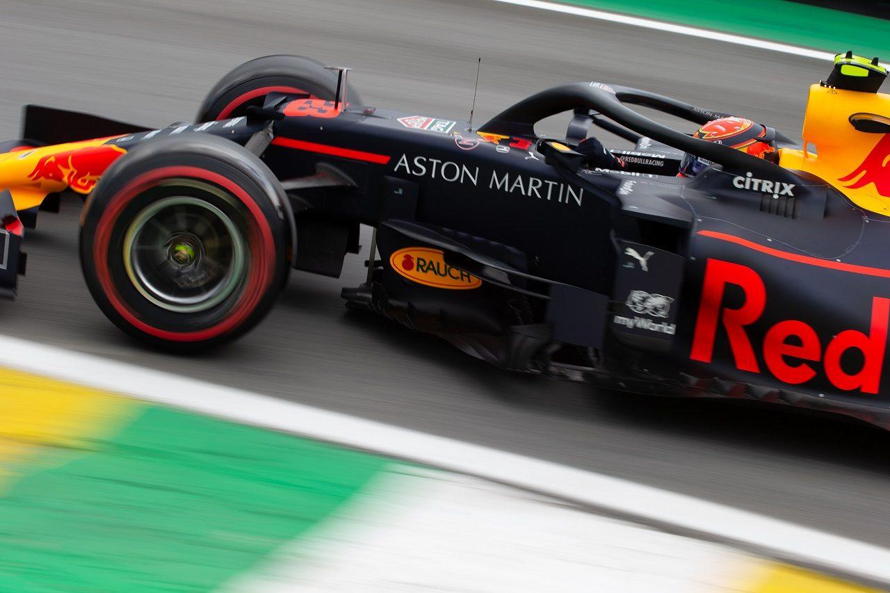 2019年F1第20戦ブラジルGP アレクサンダー・アルボン(レッドブル・ホンダ)